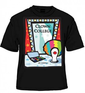 Clown College Wig Black